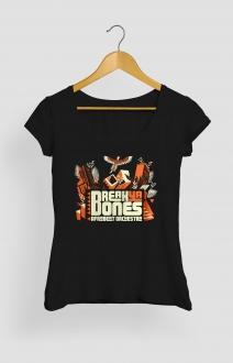 T-Shirt Break Ya Bones femme